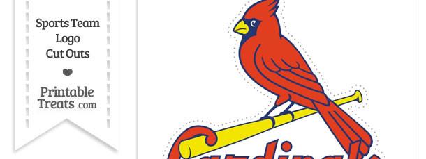 Large St Louis Cardinals Logo Cut Out