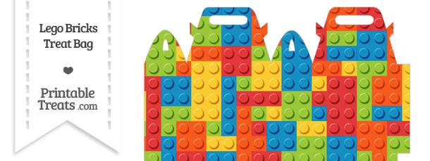 Lego Bricks Treat Bag