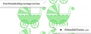 free-lime-green-small-baby-carriage-cut-outs-to-print