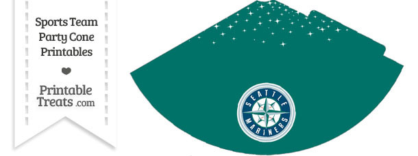 Mariners Party Cone Printable