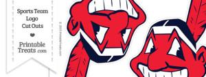Medium Cleveland Indians Logo Cut Outs