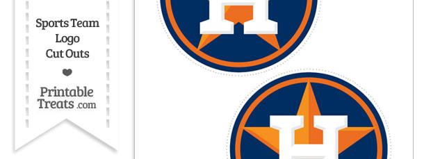 Medium Houston Astros Logo Cut Outs