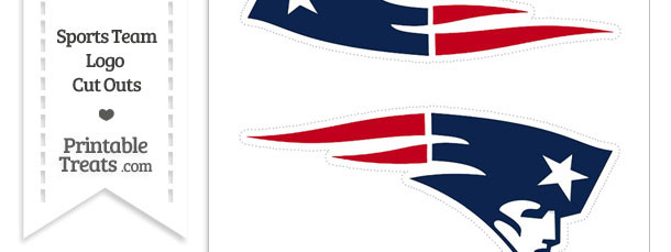 picture relating to New England Patriots Printable Logo named Medium Fresh England Patriots Brand Lower Outs Printable
