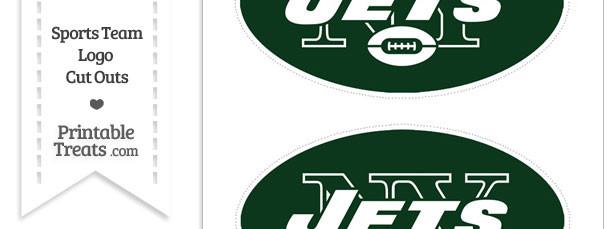 Medium New York Jets Logo Cut Outs