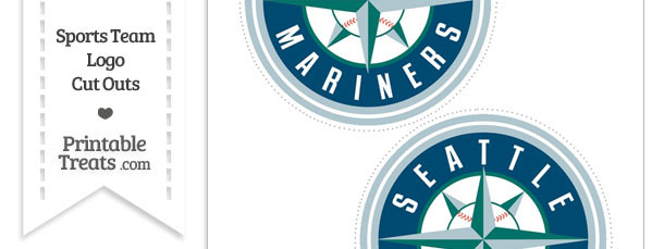 Medium Seattle Mariners Logo Cut Outs