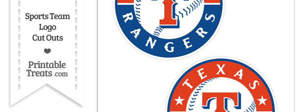 Medium Texas Rangers Logo Cut Outs