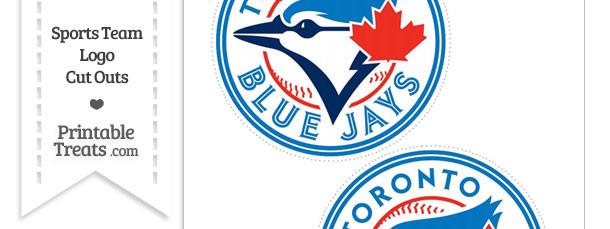 Medium Toronto Blue Jays Logo Cut Outs