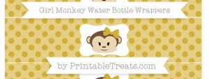 free-metallic-gold-polka-dot-girl-monkey-water-bottle-wrappers-to-print