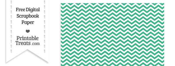 Mint Green Chevron Digital Paper Printable Treats Com