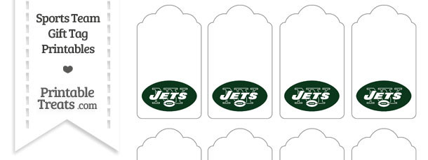 New York Jets Gift Tags
