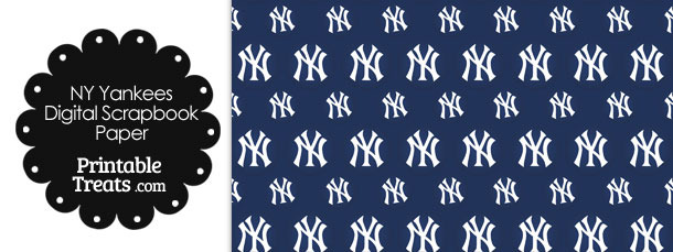 picture regarding Ny Yankees Printable Schedule named Fresh York Yankees Emblem Electronic Paper Printable