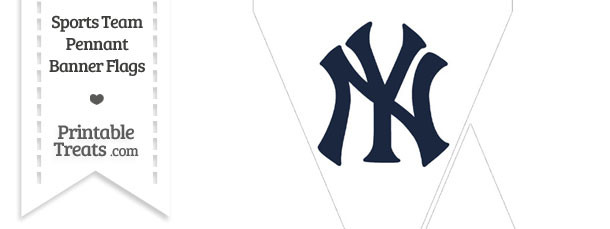 New York Yankees Mini Pennant Banner Flags