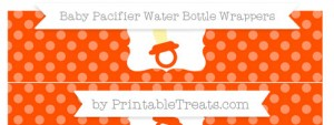 free-orange-dotted-pattern-baby-pacifier-water-bottle-wrappers-to-print