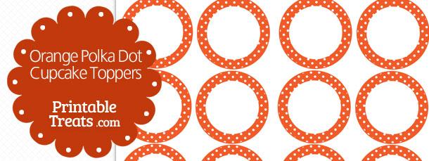 free-orange-polka-dot-cupcake-toppers
