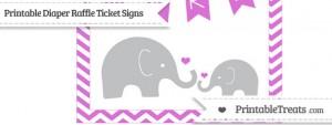 free-orchid-chevron-elephant-8x10-diaper-raffle-ticket-sign-to-print