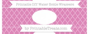 free-pastel-fuchsia-moroccan-tile-diy-water-bottle-wrappers-to-print