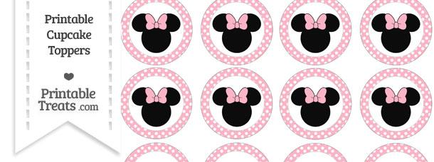 Food Design Da Dot : Free pastel light pink polka dot minnie mouse cupcake