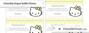 free-pastel-light-yellow-moroccan-tile-hello-kitty-diaper-raffle-tickets-to-print