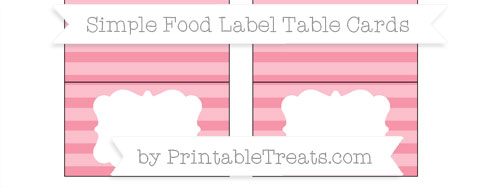 Food Label Cards Archives - Page 2 of 363 - Printable Treats.com