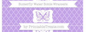 free-pastel-purple-moroccan-tile-butterfly-water-bottle-wrappers-to-print