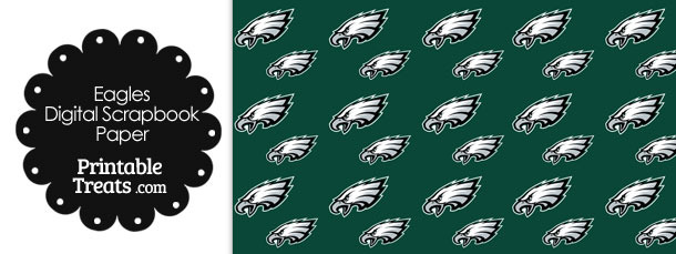 Philadelphia Eagles Craft Paper