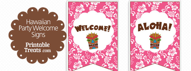 free-pink-hawaiian-party-welcome-sign