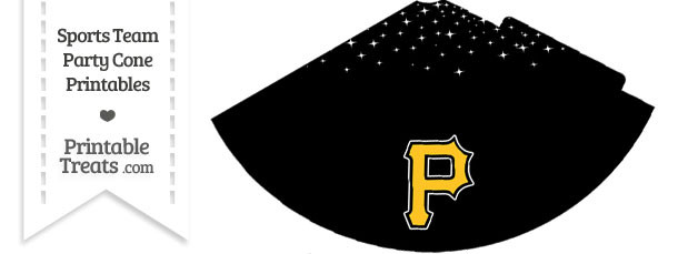 Pirates Party Cone Printable