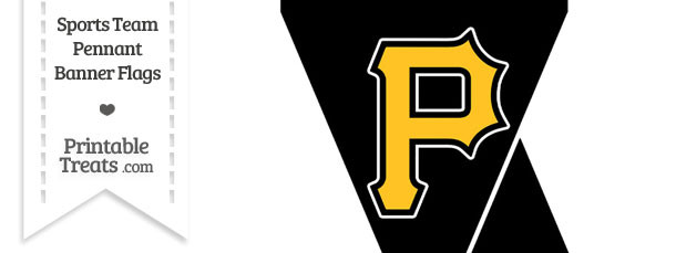 Pittsburgh Pirates Mini Pennant Banner Flags