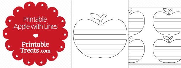 free-printable-apple-with-lines