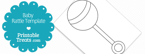 Printable Baby Rattle Template — Printable Treats.com