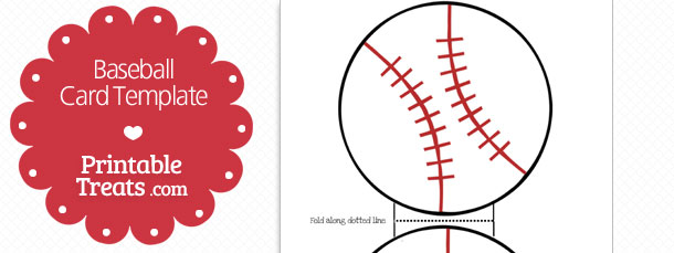 Lively image within baseball template printable