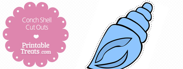 free-printable-blue-conch-shell-cut-outs