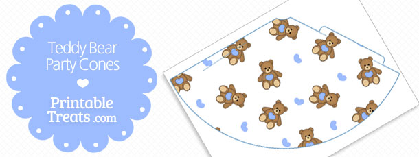 free-printable-blue-teddy-bear-party-cones