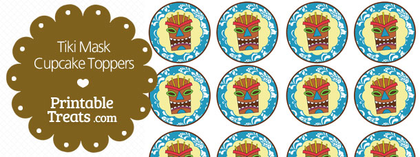 free-printable-blue-tiki-mask-cupcake-toppers