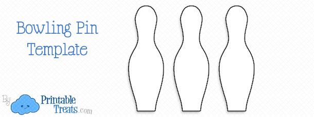 printable bowling pin template printable treats com
