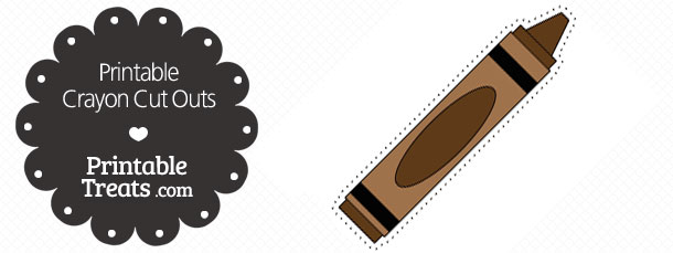free-printable-brown-crayon-cut-outs