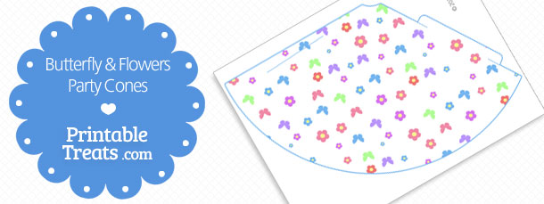 free-printable-butterfly-and-flower-party-cones