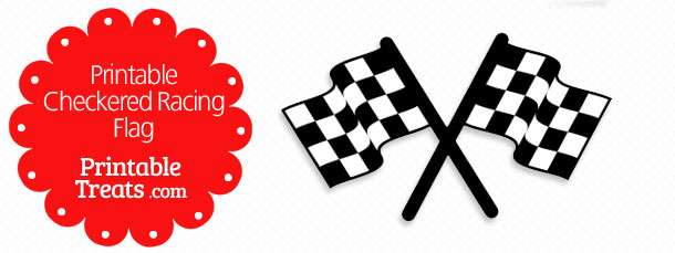 Free Printable Checkered Racing Flag