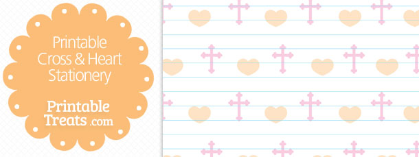 free-printable-cross-heart-stationery