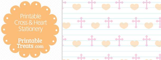 free-printable-cross-heart-stationery