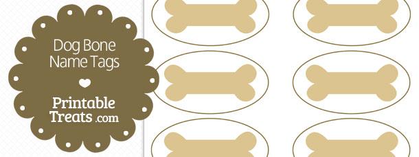 picture relating to Dog Bone Printable called Absolutely free Printable Pet Bone Status Tags Printable