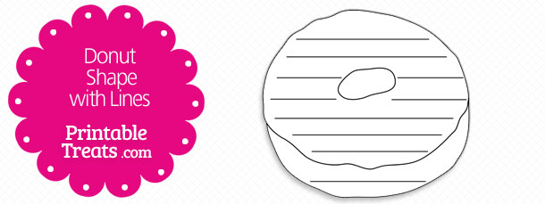 free-printable-donut-shape-with-lines
