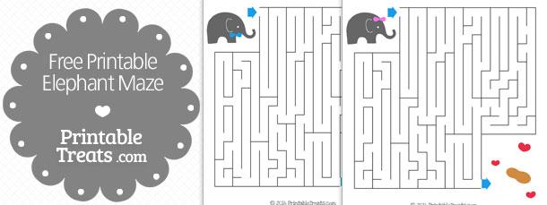 free-printable-elephant-maze