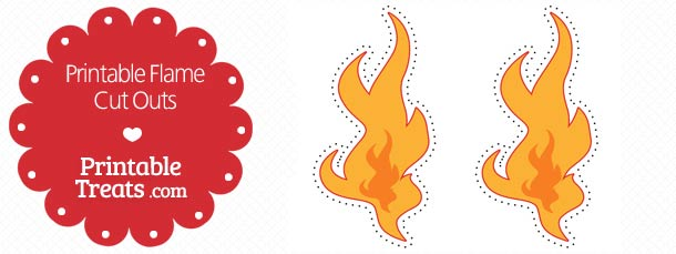 printable flame cut outs printable treats com
