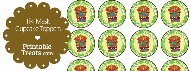 free-printable-green-tiki-mask-cupcake-toppers