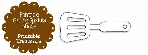free-printable-grilling-spatula-shape