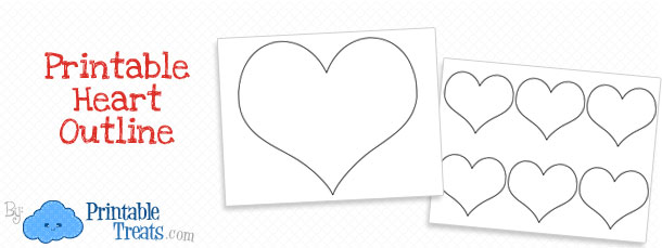photograph regarding Printable Heart Outline identify Printable Centre Determine Printable