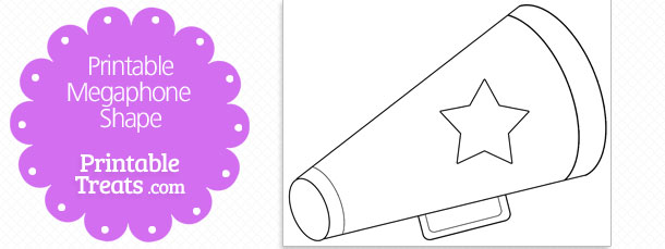 free-printable-megaphone-with-star-shape