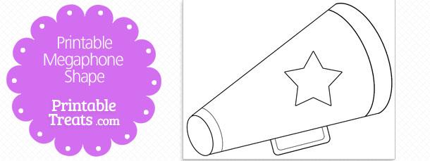 Free megaphone stencil, download free clip art, free clip art on.