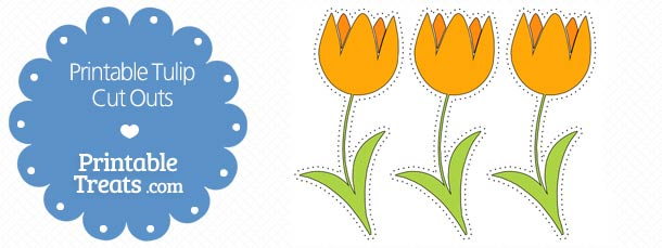 free-printable-orange-tulip-cut-outs